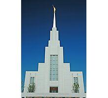 Twin Falls Idaho LDS Temple 1 Photographic Print