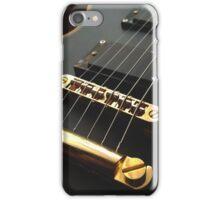Black Guitar iPhone Case/Skin