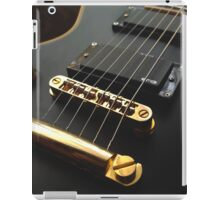 Black Guitar iPad Case/Skin