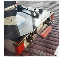 Record Player Poster