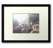 Concert Photo Framed Print