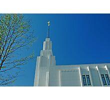 Twin Falls Idaho LDS Temple 2 Photographic Print