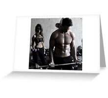 Couples Workshop Greeting Card