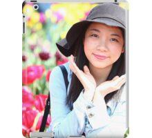 """Flower in the Poppy""""s iPad Case/Skin"""
