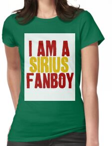 I Am a Sirius Fanboy Womens Fitted T-Shirt