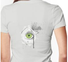 eye eye Womens Fitted T-Shirt