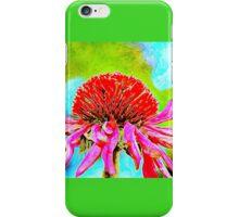 Echinacea Purpurea.. iPhone Case/Skin