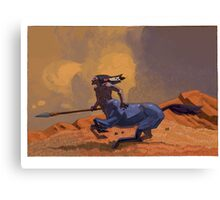 galloping centaur Canvas Print