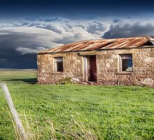 Old Stone Ruin Panorama by Shannon Rogers