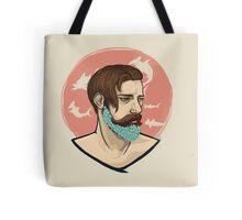 Flower Beard v1 Tote Bag