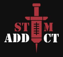 Starcraft 2: Stim Addict (red) by itchylabel
