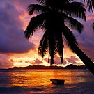 Sunset in La Digue by andreaminerdo