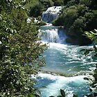 Cascades, Krka National park. by machka