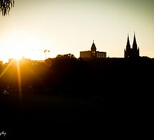 Sunrise over Adelaide by AuroraPhoto