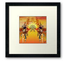 May Queen Sunset Promenade Framed Print