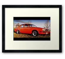 Fanta.. GTO's baby sister Framed Print