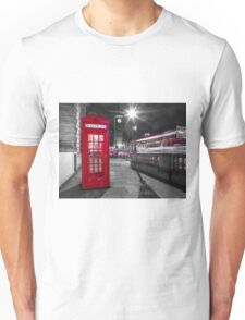 Telephone Booth with Big Ben Unisex T-Shirt