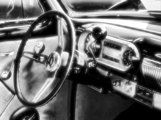 Inside a Classic Chevy by © Bob Hall