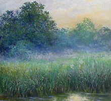 Evening mist by Julia Lesnichy