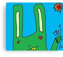 """Big Bad Bunny"" by Richard F. Yates Canvas Print"
