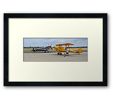 Trainer and Fighter Framed Print