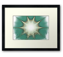 The First Day Of Summer Framed Print
