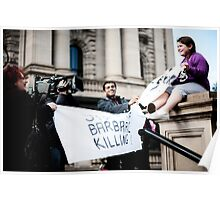 Reportage- 'Ban Live Export' Poster
