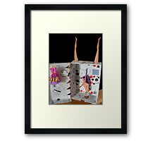 Shoebox With Legs Framed Print