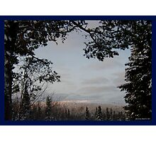 Winter Framed Photographic Print