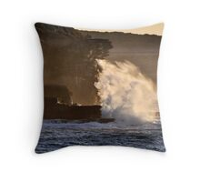Backlit Splash Throw Pillow