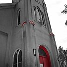 Color Splash Church by JAGgedEdgePhoto