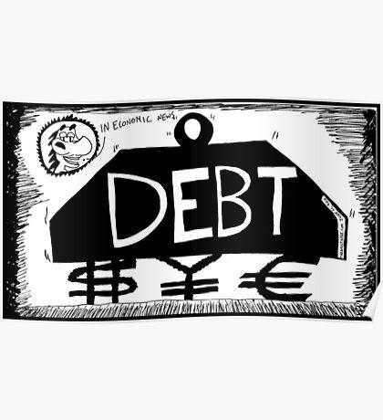 Debt Weight Poster