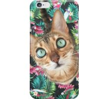 Cat in Paradise iPhone Case/Skin
