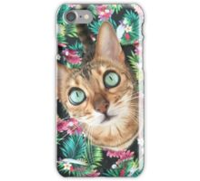 Cat in Paradise iPhone Case/Skin