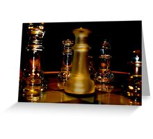Whisky Chess Greeting Card