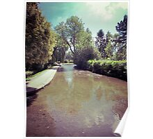Nostalgic River - Bourton On The Water, Cotswolds Poster
