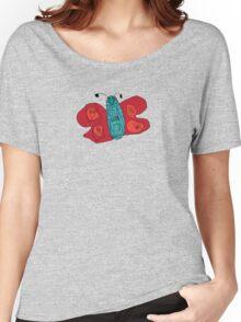 flutterby Women's Relaxed Fit T-Shirt