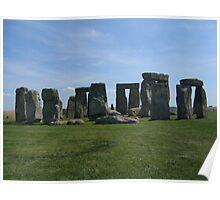 Stonehenge, UK. Poster