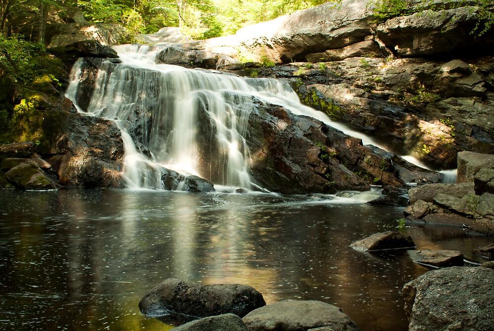 Lower Purgatory Falls 2 by Diana Nault