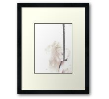 Doll Suicide Framed Print
