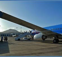 Landed on Lanzarote by Janone
