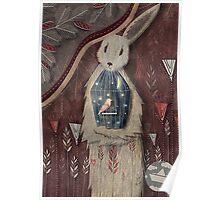 chaising rabbit Poster