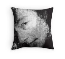 Portrait of An Elizabethan Gentleman. 19th Century Engraving from Lost Original. Throw Pillow