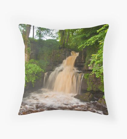 The Colours of Water Throw Pillow