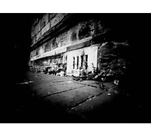 Grate pinhole Photographic Print