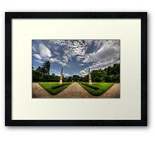 """Garden of """"W"""" Framed Print"""