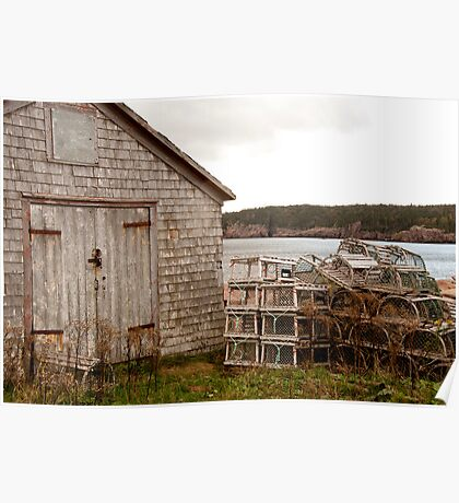 Boat Shed Poster
