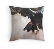 """Alight - The Wedge-tailed Eagle"" Throw Pillow"