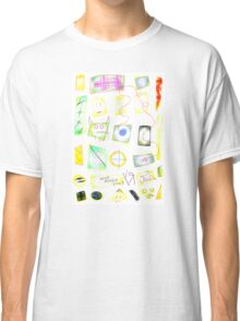 """""""Who Asked You? (Negativity in a Stained Glass Case)"""" by Richard F. Yates Classic T-Shirt"""