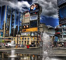 Dundas Sq by Al Duke